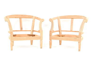 CLASSICAL STYLE LOUNGE CHAIR FRAMES