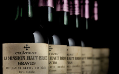 Château La Mission-Haut-Brion 1975, 6 bottles per lot
