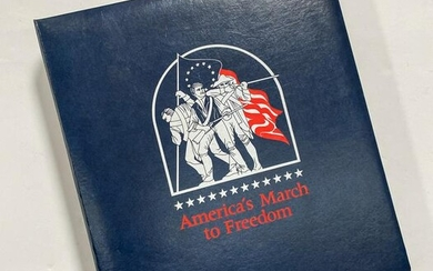 Collectible Stamps of America's March to Freedom