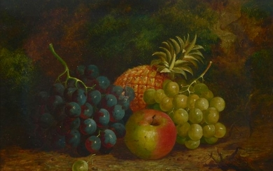 ENGLISH STILL LIFE OF FRUIT IN THE STYLE OF CLARE
