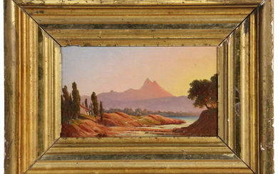 FREDERIC EDWIN CHURCH (NY/CT/MEXICO, 1826-1900)