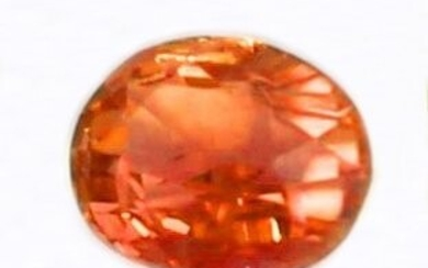 GRS 1.03 ct. Padparadscha Sapphire Untreated MADAGASCAR