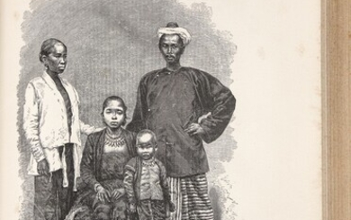 Garnier, Marie Joseph Francis. Rare complete set of the first edition of the official printed record of the most important 19th-century exploratory expedition into Indochina