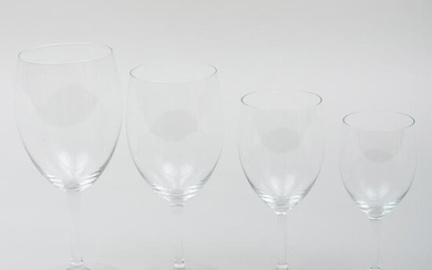 Group of Bacarrat Stemware