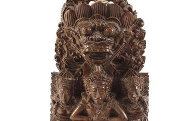 Indian wood carving