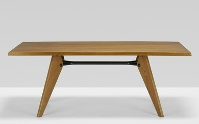Jean Prouve, S.A.M. dining table, model TS 11