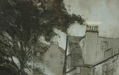 "John Heywood (Scottish) ""Ramsay Gardens"" Signed Limited Edition Print, No 2 of 50, Signed in Pencil"