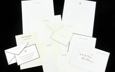 Kennedy Family Amazing Group of Stationery & Cards
