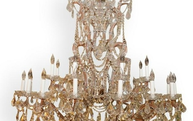 Large 24 Arm Crystal Chandelier