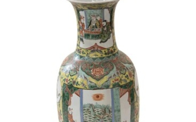 Large Chinese vase Qing Dynasty 19th century | Große Chinensische Vase Qing Dynastie 19. Jh