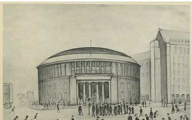 Laurence Stephen Lowry - The Reference Library, Manchester, ...