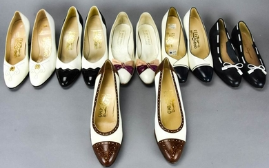 Lot Vintage Ferragamo & Magli Women's Shoes