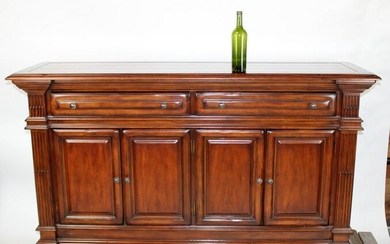 Mahogany 4 door sideboard