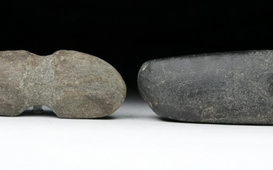 Pair of Ancient Native American Stone Tools