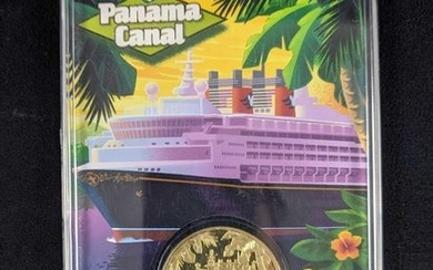Rare Disney Cruise Line 2008 Panama Canal Collector