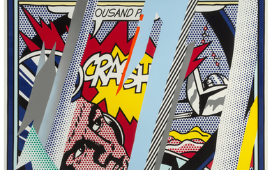 Roy Lichtenstein (1923-1997), Reflections on Crash, from Reflection Series (1990)