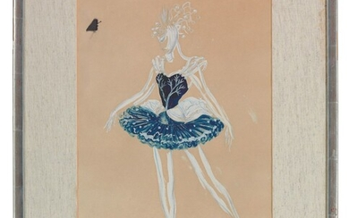 William Chappell (1907-1994), Design for the Seasons, Winter, Peggy van Praagh
