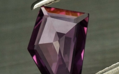 0.88 ct. Natural Pinkish Purple Unheated Sapphire