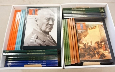 2 BOXES MILITARY HISTORY BOOKS