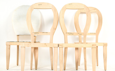 (4) FRENCH STYLE SIDE CHAIR FRAMES