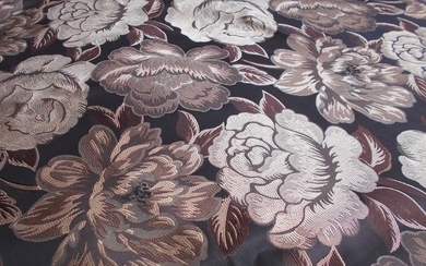 5 m Jacquard damask fabric for upholstery - Textiles - Unknown