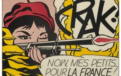 65065: Roy Lichtenstein (1923-1997) CRAK!, 1964 Offset