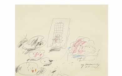 Cy Twombly (1928-2011), Untitled