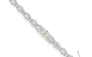 A DIAMOND COCKTAIL WATCH, ROLEX FOR BUCHERER in