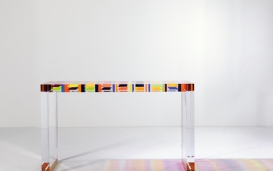 "A Unique Console / Console Table ""DNA"", designed and manufactured by Studio Superego"