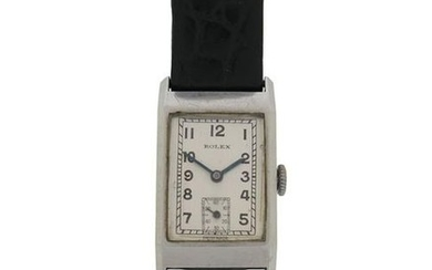 A gentleman's steel wristwatch by Rolex, the signed...
