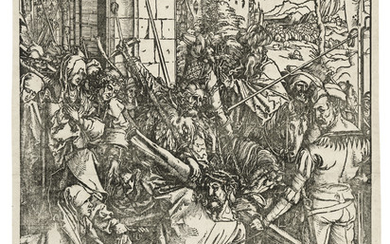 ALBRECHT DÜRER (1471-1528), Christ carrying the Cross, from: The Large Passion