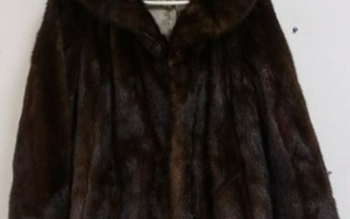 ARNOLD CONSTABLE FIFTH AVE FUR COAT