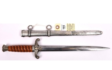 An early Third Reich Army officer's dagger, c.1935, the blad...