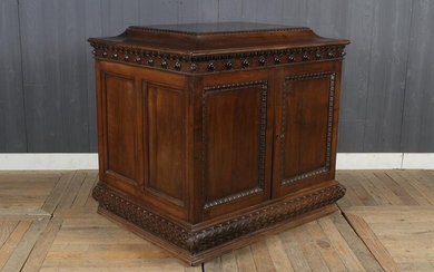 Antique Collector's Cabinet Stand