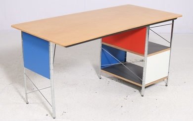 Charles & Ray Eames for Vitra. Desk, model EDU