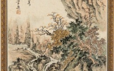 Chinese Large Landscape Painting EV2DC