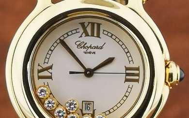 Chopard - Happy Sport 18K Case / Buckle With 7 Diamonds- Ref.27/6144 - 23 - Women - 2011-present