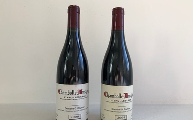 Domaine Georges & Christophe Roumier Les Cras; 2004 & 2006 - Chambolle Musigny 1er Cru - 2 Bottles (0.75L)