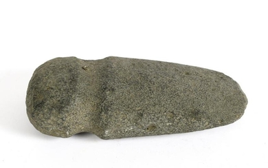 EXCEPTIONALLY LARGE PRE COLUMBIAN STONE AXE