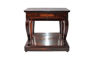Early Biedermeier console table | Frühbiedermeier Konsoltisch