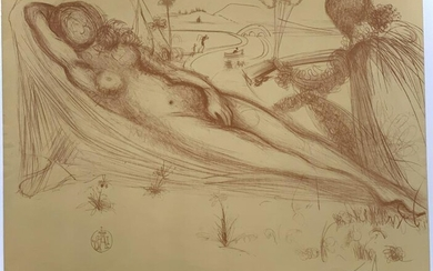 Early Salvador Dali Limited Edition Print