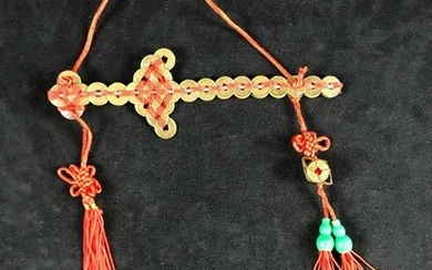 Feng Shui Coin Swords Red Thread Chinese Five