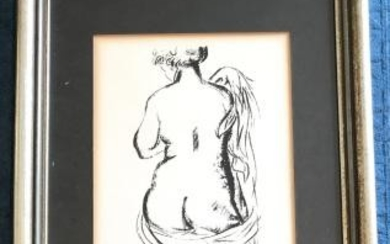 Framed Lithograph Print by Aristide Maillol