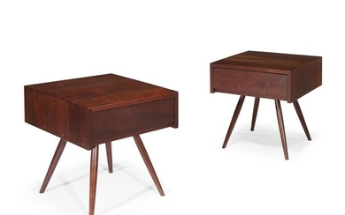 """George Nakashima (American, 1905-1990) A Pair of """"Pitcairn Type""""..."""