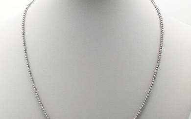 Giallo - 18 kt. White gold - Necklace