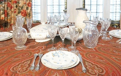 HOUSEHOLD Silver-plated metal - net design 12 large...