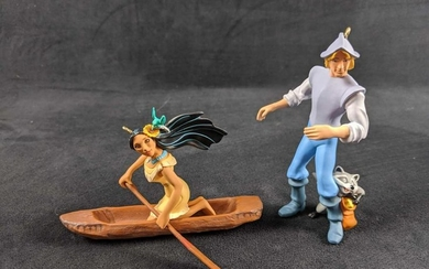Hallmark Keepsake Disney Pocahontas Ornaments Lot Of