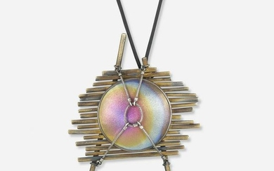 Harold O'Connor unsigned niobium necklace