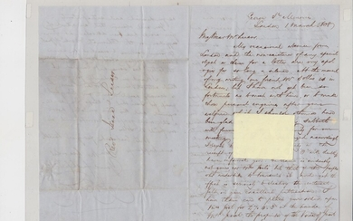 Leeser, Isaac (letter to him from Jacob A. Franklin)