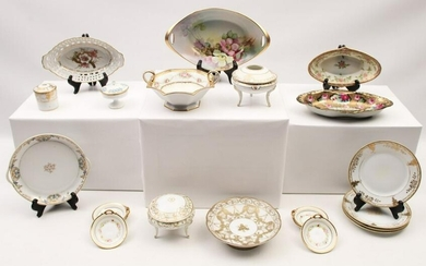 MISC. 21 PC. COLLECTION OF NORITAKE PORCELAIN